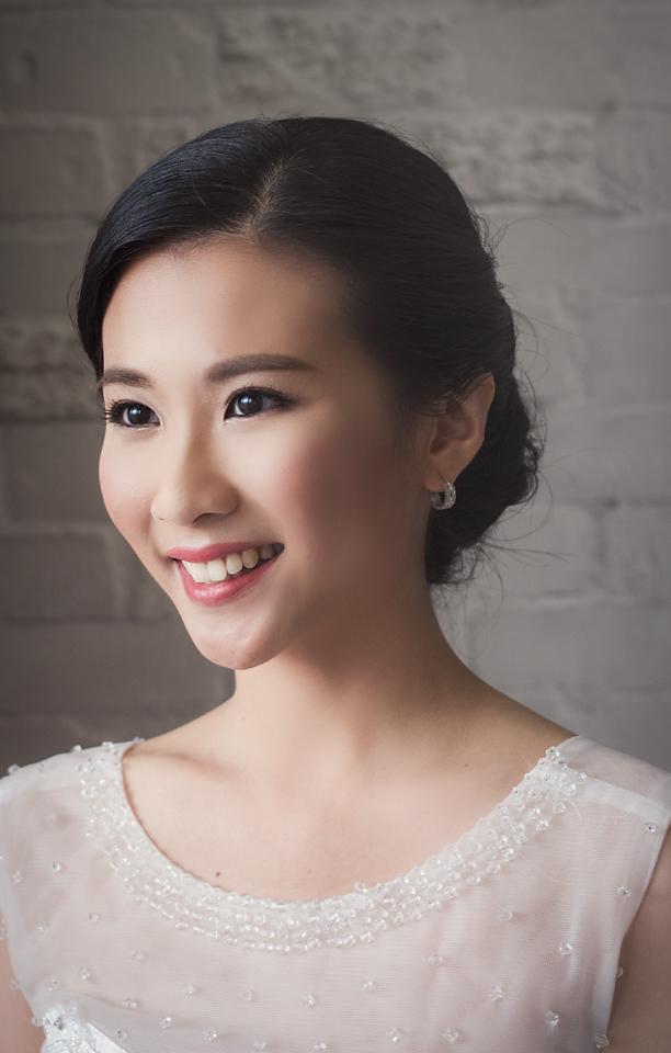 Bride - Shu Ching - Malaysia Bridal Makeup Artist Agnes Yip