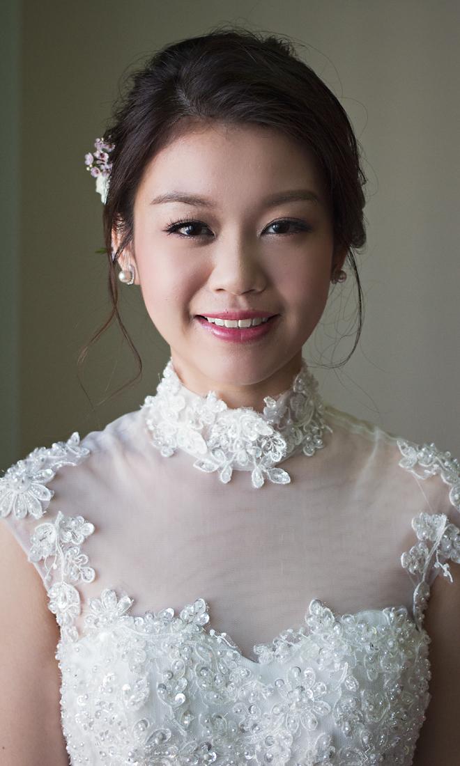 Phyllis - Bride - Malaysia Bridal Makeup Artist Agnes Yip