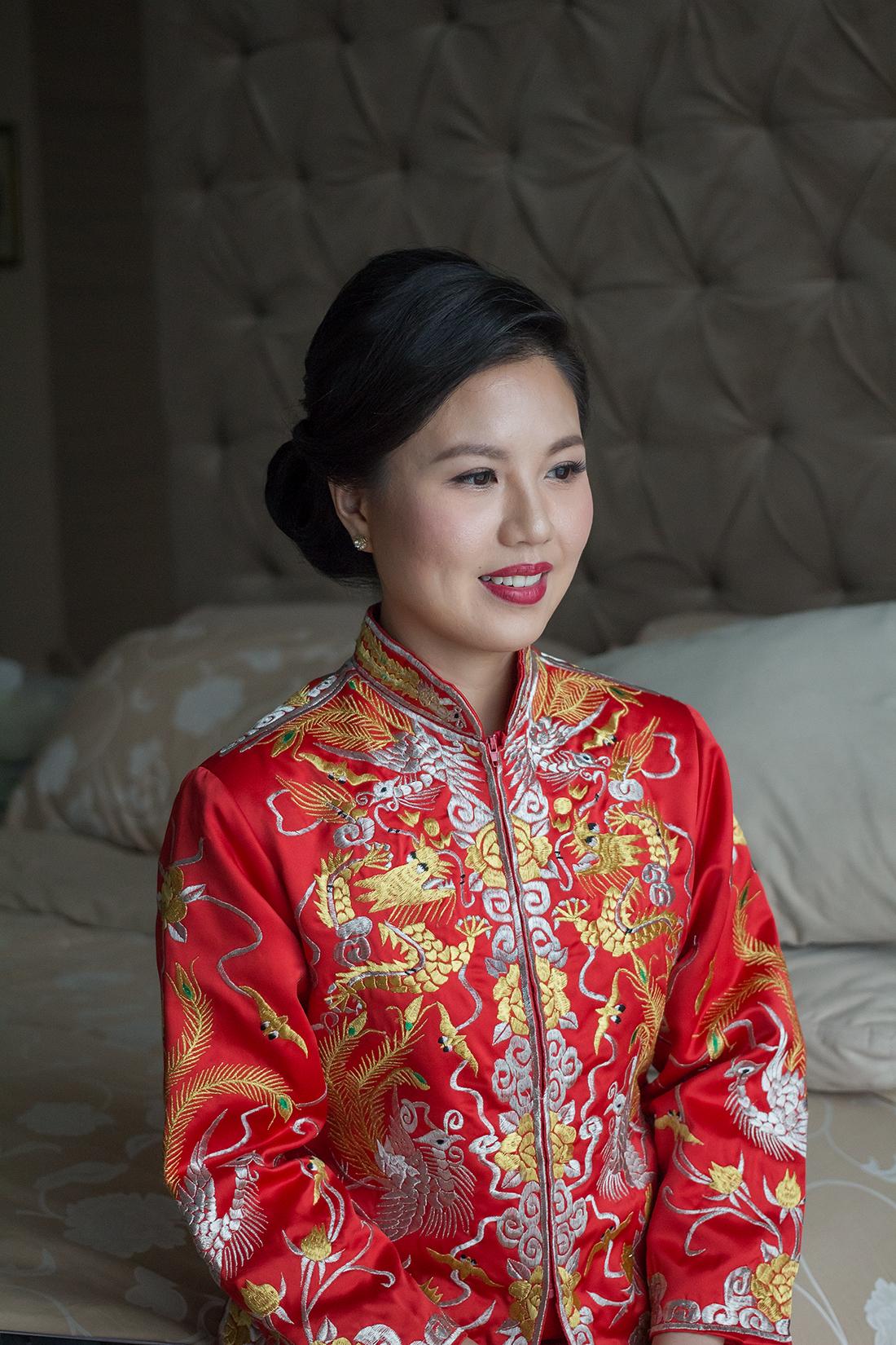 Bride Sarah - Malaysia Bridal Makeup Artist Agnes Yip